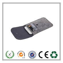 Alibaba Express Free Sample Hot Selling Felt Mobile Phone Bags