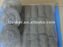 polybag stainless steel wool pads used for cleaning