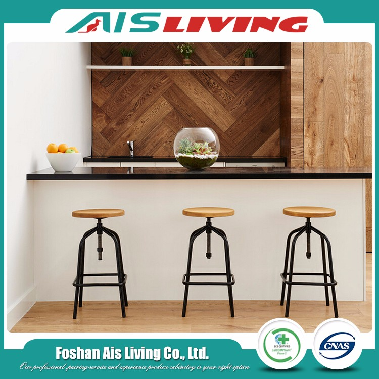 2017 New Engineering Design America Kitchen Cabinet For Hotel Cabinets (AISKI-82)