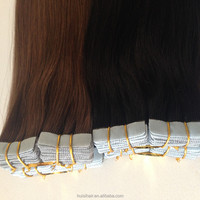 Soft and smooth new premium hair products with strong & sticky super tape virgin malaysian 26 inches tape human hair extensions