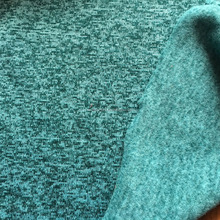 310g/sm polyester cationic sweater fabric,two tone brushed fleece fabric ,thermal brushed polyester knit fabric