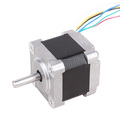 from 42mm Nema 17 mini hybrid Stepper motor with Brake nema 17 motor seller