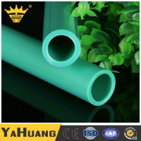 Hot Water Heating Factory Price High Quality Green PPR Plastic Fitting Pipe