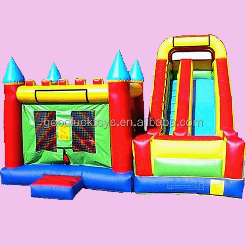 inflatable advertising Princess Bouncy Castle With Slide For Rental Or Party ,inflatable jumping house