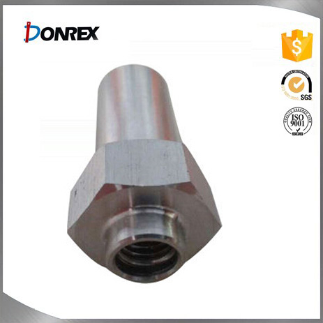Customized stainless steel CNC lathe part with ISO certification
