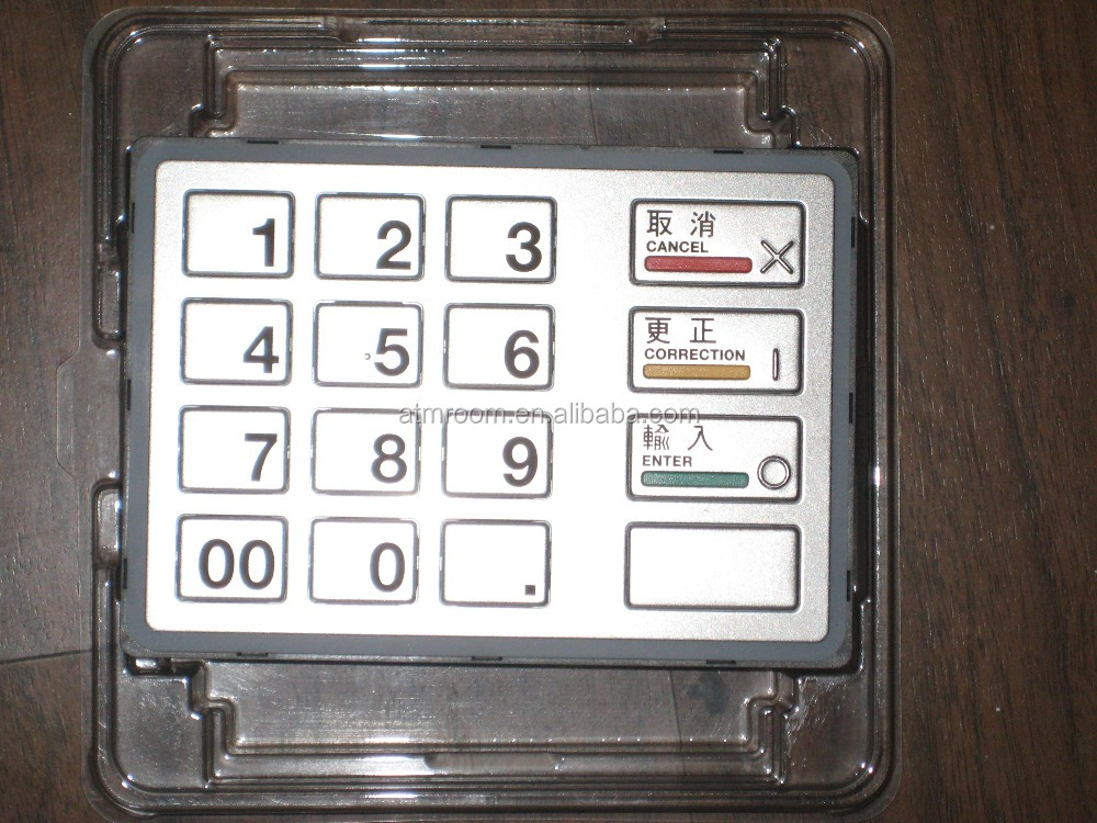 ATM machine ATM parts Diebold EPP5 Keyboard 49216680701A