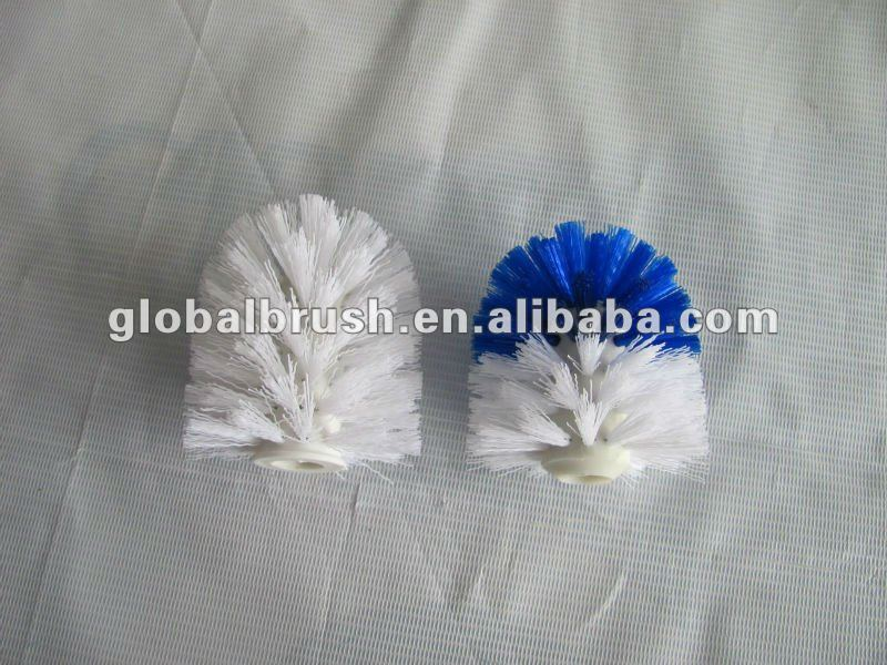 2105-A bathroom accessory,replacement round toilet brush head for toilet bowl brush set