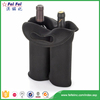 SEDEX/SGS Superior Quality Custom Polyester Two Bottle Wine Bag
