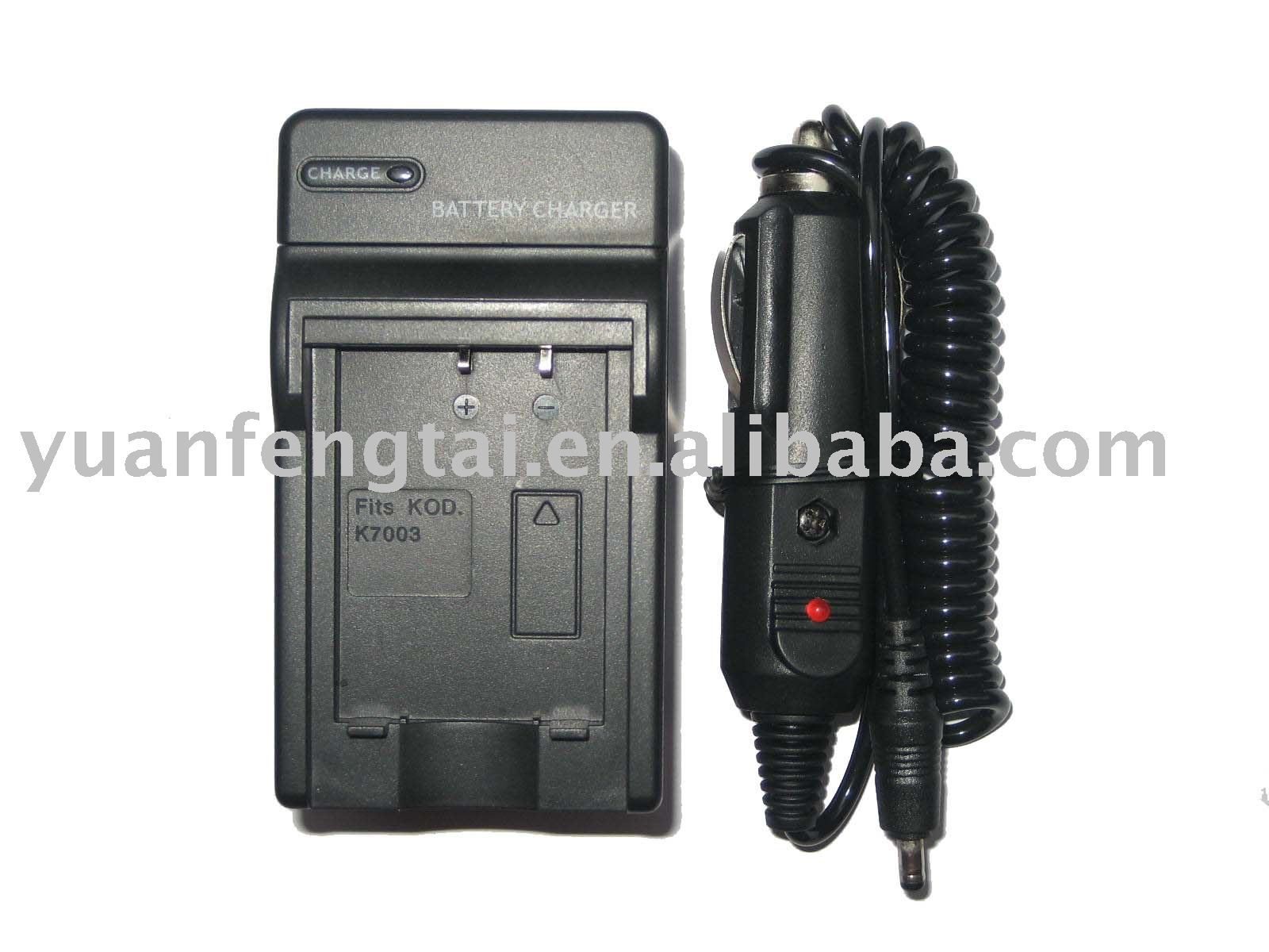 KLIC-5001 Battery Charger Digital Camera Battery Charger for Kodak KLIC-5001