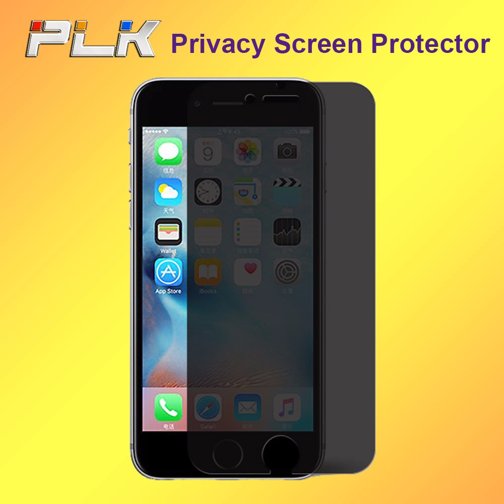 Hot Sale Privacy Screen Protector For Mobile Phone, Hot Sale Anti Spy Screen Protector For Iphone 7 Tempered Glass