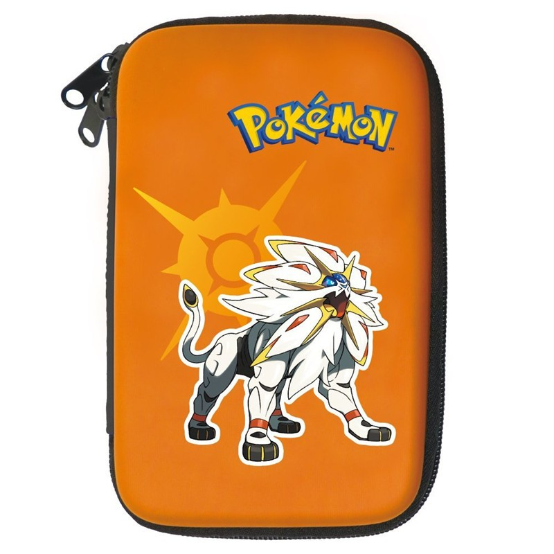 Pokemon Sun & Moon Hard shell carrying case pouch for New Nintendo 3DS XL
