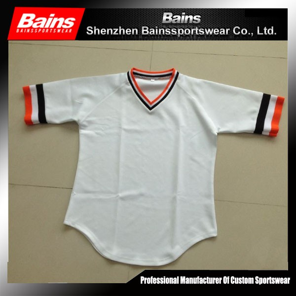 Hot selling high quality cheap blank baseball jerseys wholesale