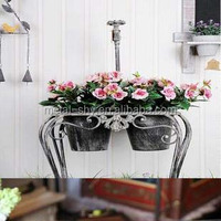 Antique Cast Iron Planters And Urns