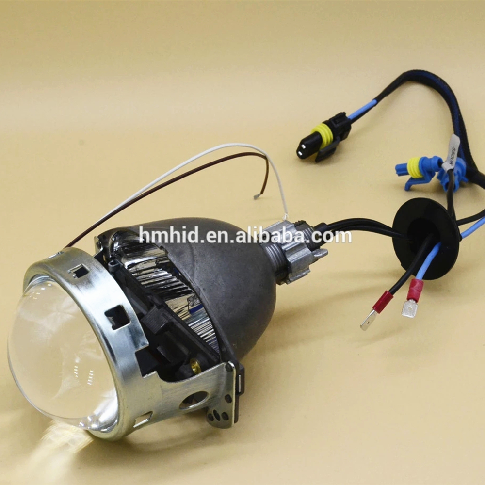 Modified Special Use AOKEMU Q5-<strong>H0</strong> 3.0 Inch Bi-Xenon HID Projector Lens For Car Autos Headlight Assembly
