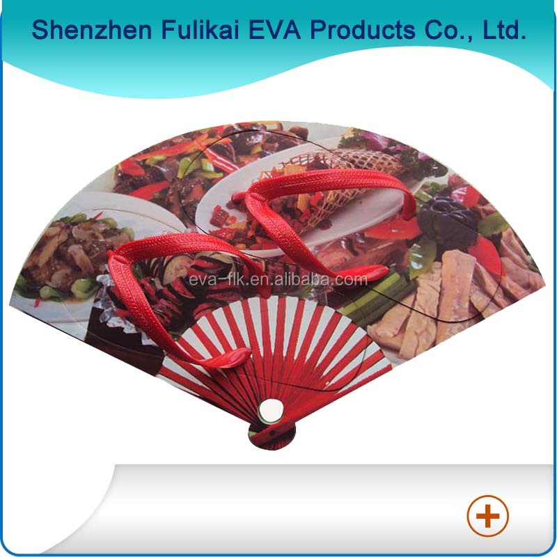 China Style Fan Design Flip Flops Factory From Shenzhen