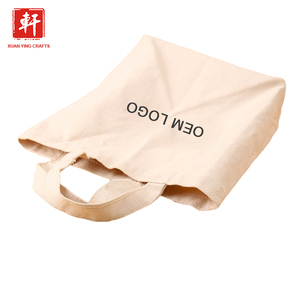 Heat-transfer Printing tote bag recyclable shopping eco cotton canvas