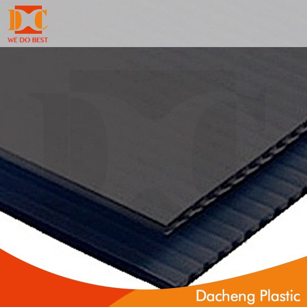 4MM correx twinwall polypropylene cellur board
