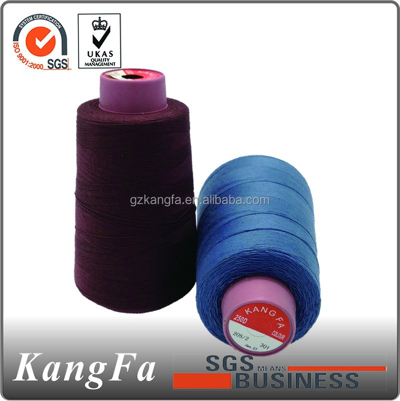 Factory driect sale 100% polyester thread with high quality and best price.