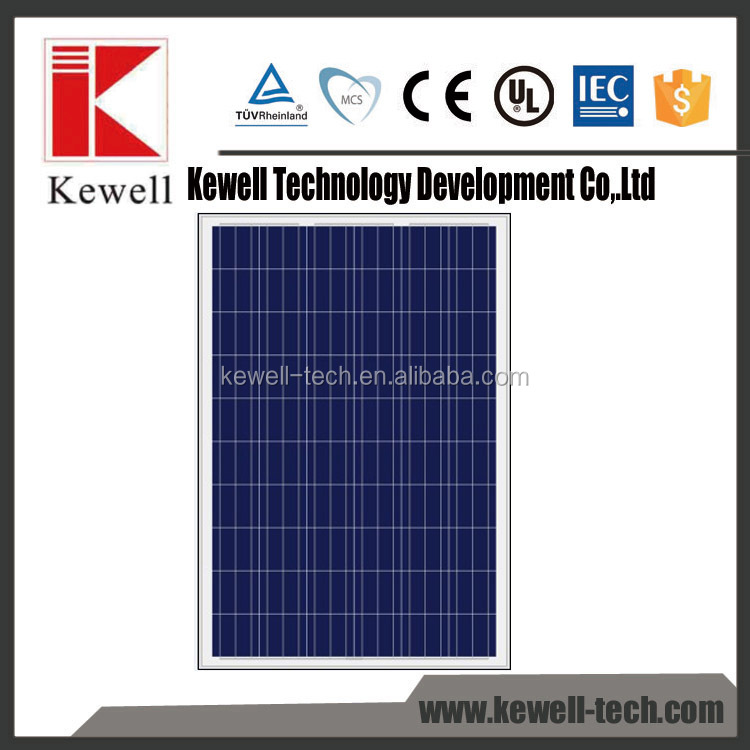 2016 factory price 3100W monocrystalline solar cell for sale