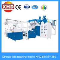 Double layer ABA type stretch film making machine