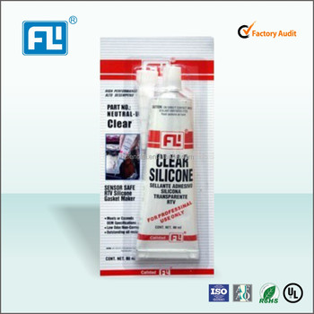 High quality clear RTV silicone gasket maker for floor