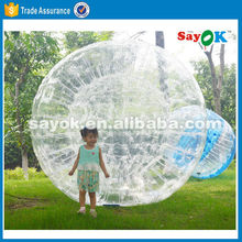 Inflatable soccer zorb bubble bumper football zorbing ball price for adult kids