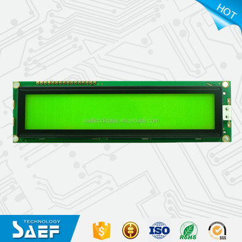 COB type 20x2 lines character lcd display module