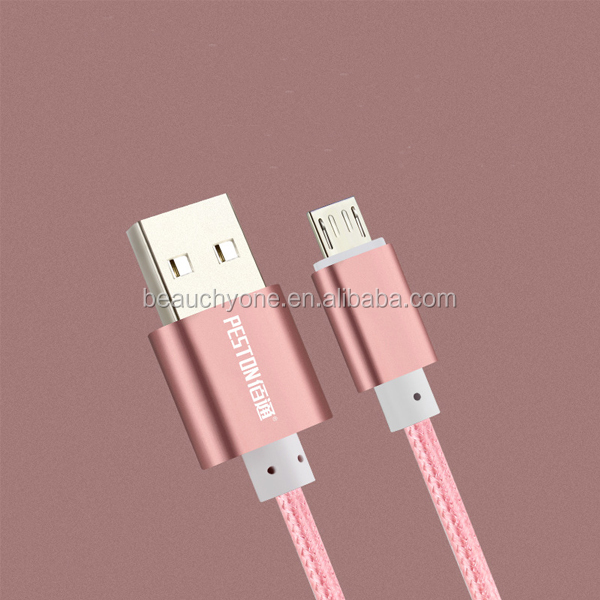 Beauchy newest 1M Nylon braided male to male USB 3.1 Type-C Data Cable Beauchy Marcel