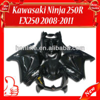 Injection Fairings for KAWASAKI Ninja 250R EX 250 2008 2009 2010 2011 EX250 ZX250R 08 09 10 11 Black
