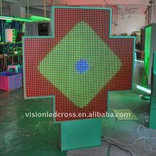 3D animation Led Cross Display Bright& Easy Software