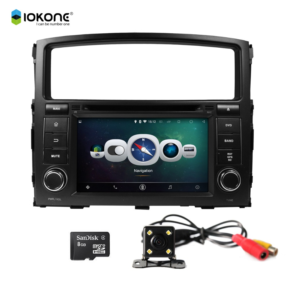 Factory Wholesale Android 4.4 Quad-Core Touch Screen Car DVD Player with GPS for MITSUBISHI PAJERO 2006-2011Car Accessories