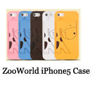 Zoo World iPhone 5 case with holder
