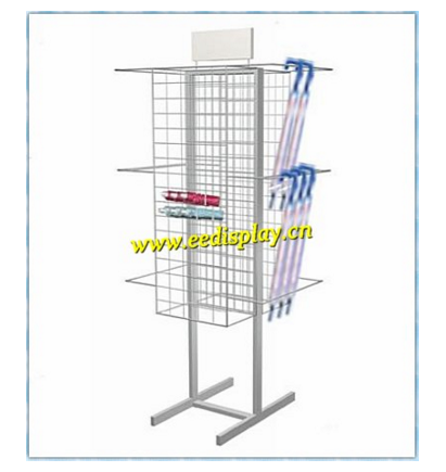 stylish umbrella display rack producer/metal umbrella display holder/steel shop display rack for promotion supermarket retail