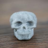 European Punk Skull Reusable Ice Cubes Semi Precious Whiskey Stone For Barware