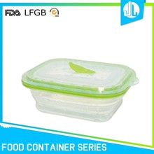 Nice design silicone material keep food warm containers
