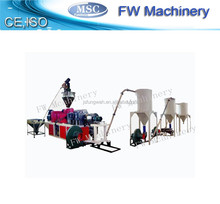 double screw extruder pvc plastic granulator/pellet production line