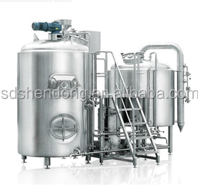 1000L complete beer equipment/brewery system with CE certificate