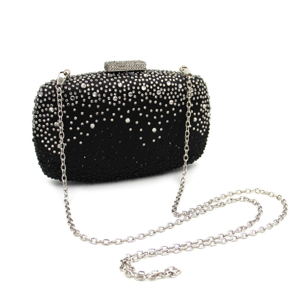 Luxury indian evening bridal box clutch purse bag for girls