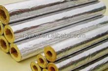 Thermal Insulation Glass Wool Pipe Cover With Aluminum Foil