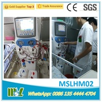 High quality Multifunctional hemodialysis machine for clearing the toxin in the blood/ cheap blood dialysis machine China