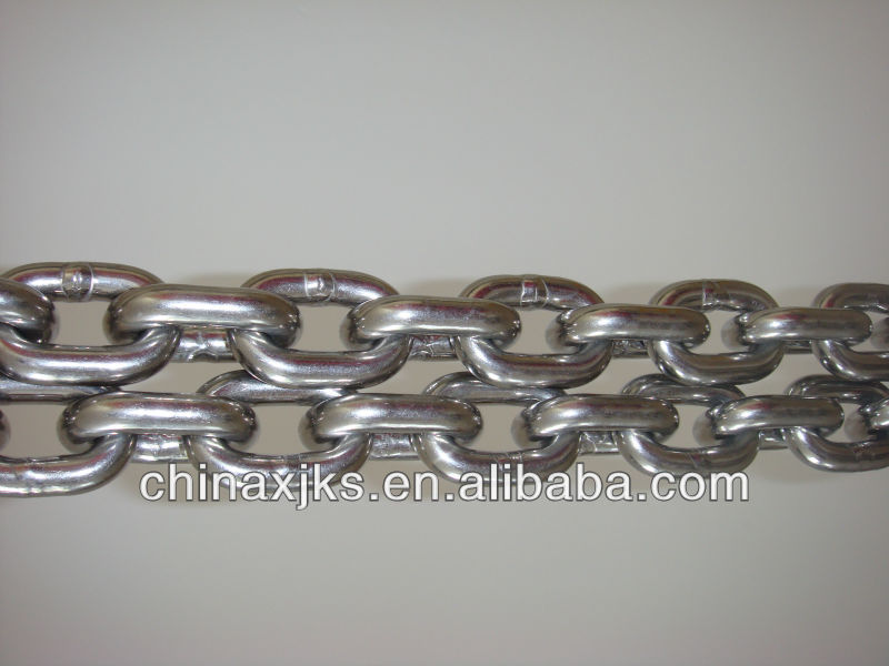 hot dip galvanized chain, for marinas, floating pontoons, fender