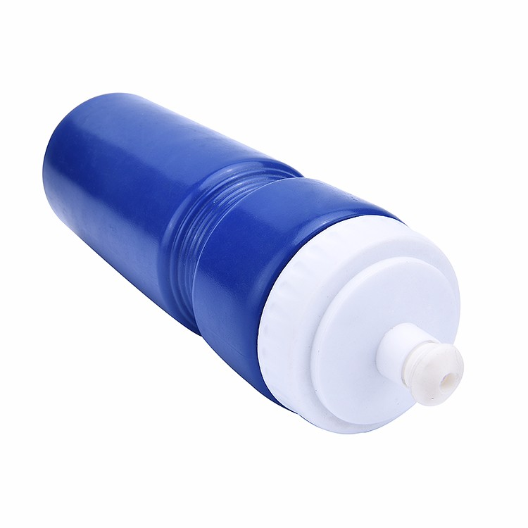 700mL/24oz Customized Plastic Sports Bottle with Silicone Nozzle, Reusable Water Bottle XYT-YD705E