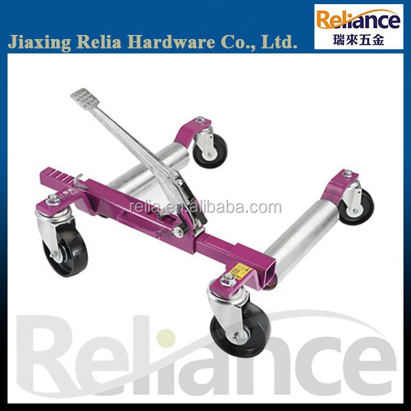 "12"" Hydraulic/Manual Vehicle Positioning Jack, Car Wheel Jack, Godolly"
