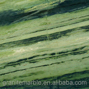 China Beautiful Verde Bamboo Green Granite