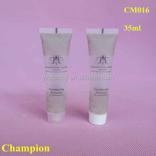 35ml transparent plastic packaging oval tube