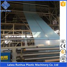 3 layer coextrusion 16m open wide agricultual plastic blown film machine