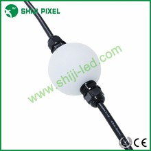 Outdoor 360 degree 50mm dmx matrix led pixel string 3d effect ball lights