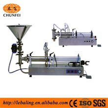 Semi-Automatic pharmaceutical syrup filling machine