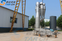 Stainless steel cassava chips dryer machine for starch production
