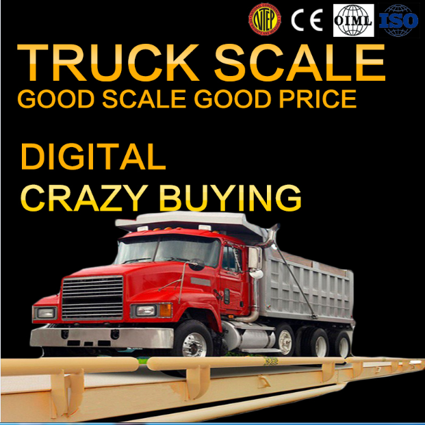Export digital truck scale 100 Ton used weigh bridge